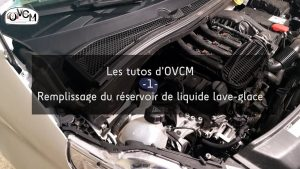 Tuto OVCM #1 - Remplissage lave-glace