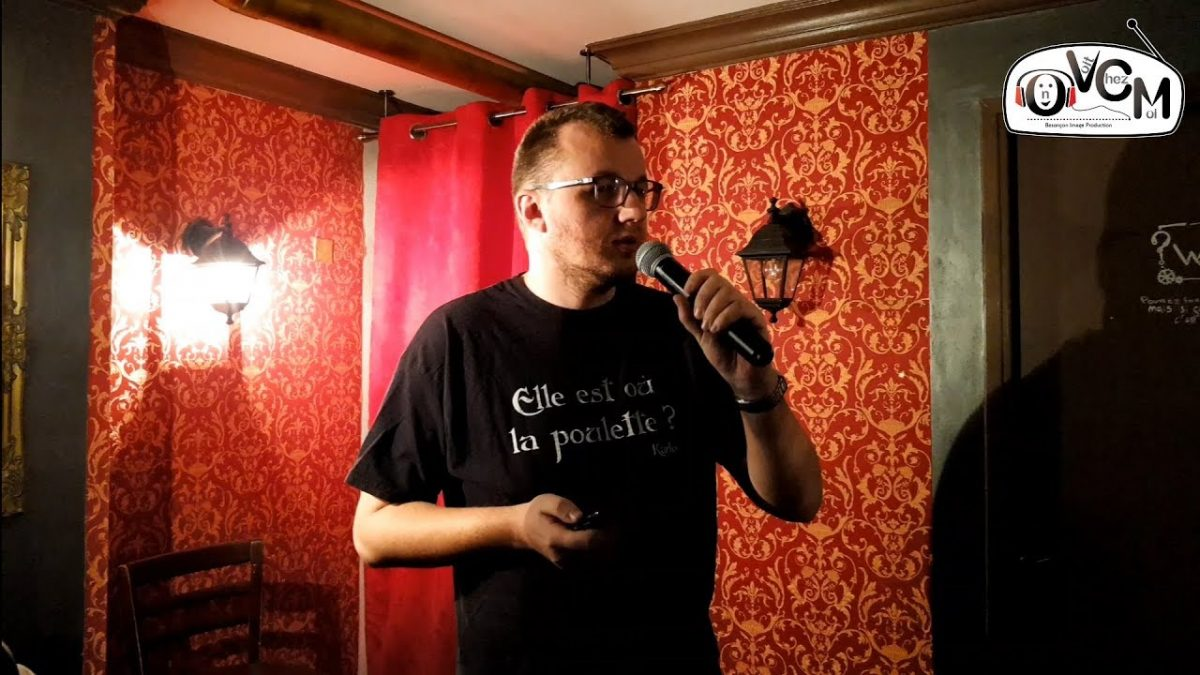 captation 1er stand-up Seb