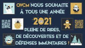 On Voit Chez Moi nous souhaite à tous une année 2021 pleine de rires, de découvertes et de défenses immunitaires !
