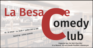 Besace Comedy Club 01/07/2021