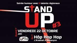 Grande soirée stand-up du 22/10/2021 par OVCM à Hôp Hop Hop